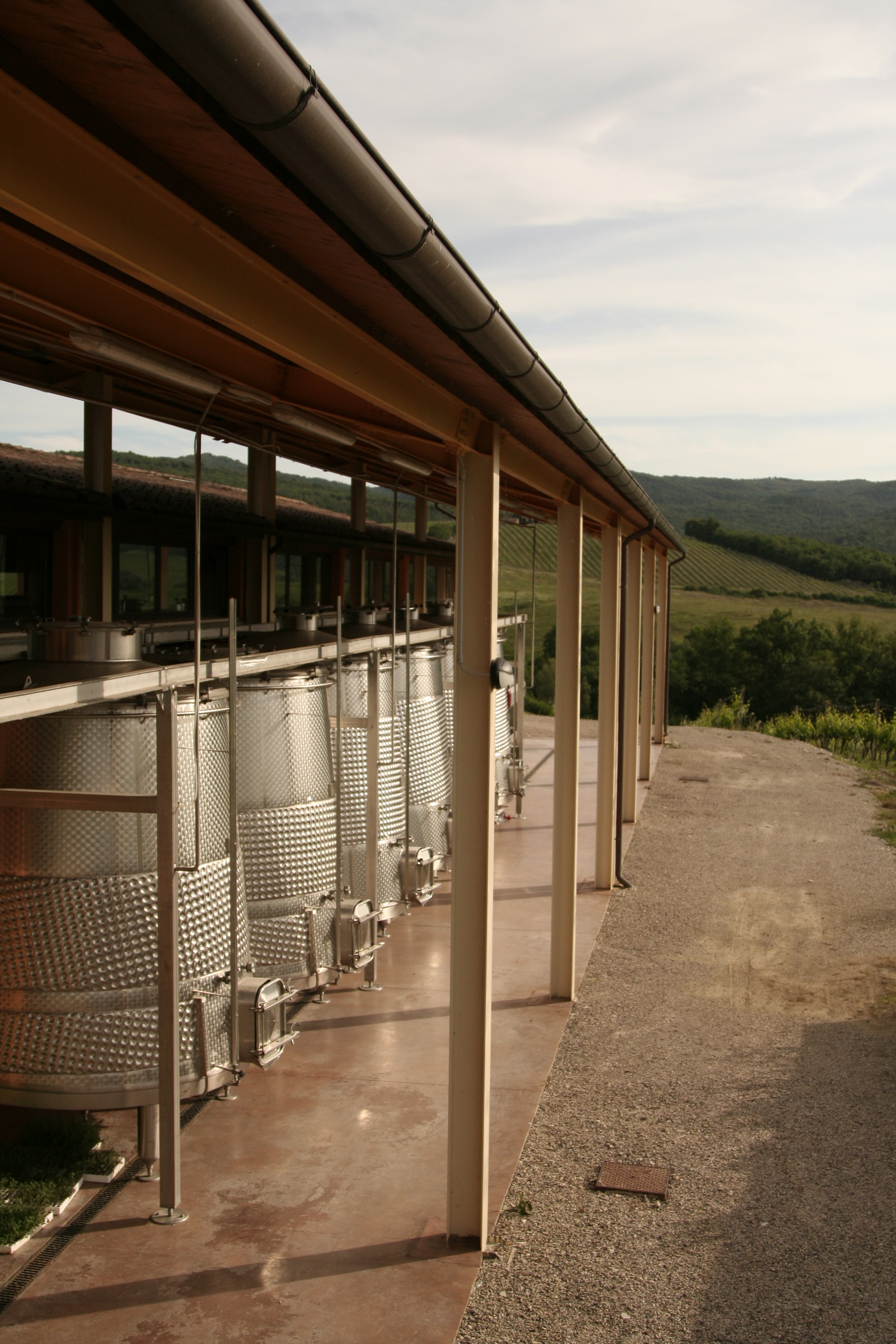Tinaia del Vento al Casato Prime Donne in Montalcino