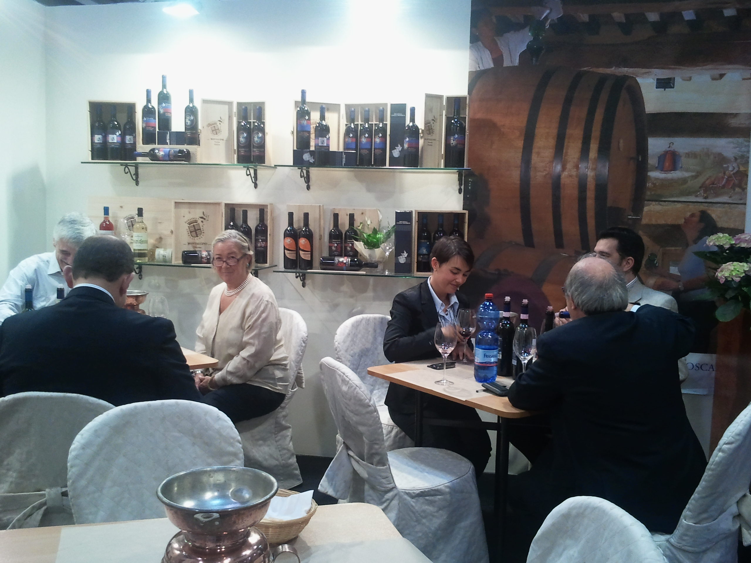 Vinitaly 2011. Assaggio del Brunello Donatella Cinelli Colombini