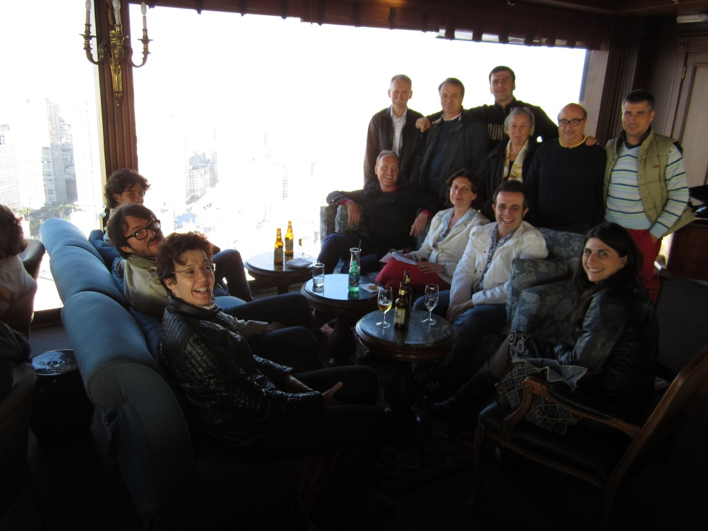 I produttori di Brunello nella terrazza Italia