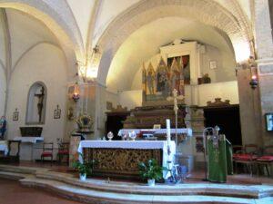 Trequanda Chiesa dei Santi Pietro e Andrea