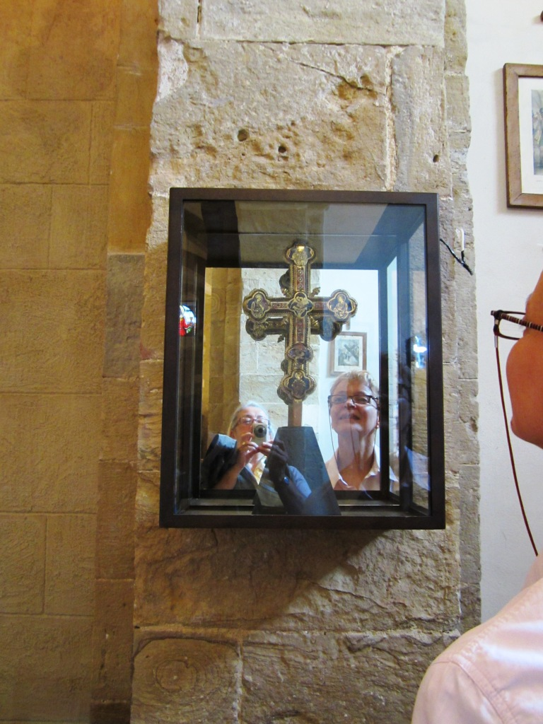 Trequanda Croce processionale