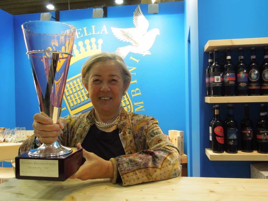 Vinitaly 2012 - Donatella Cinelli Colombini - Premio Internazionale Vinitaly