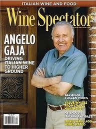 Wine Spectator -coperina Angelo Gaja