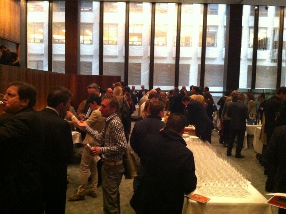 Four Season New York, wine tasting organized by Banville & Jones