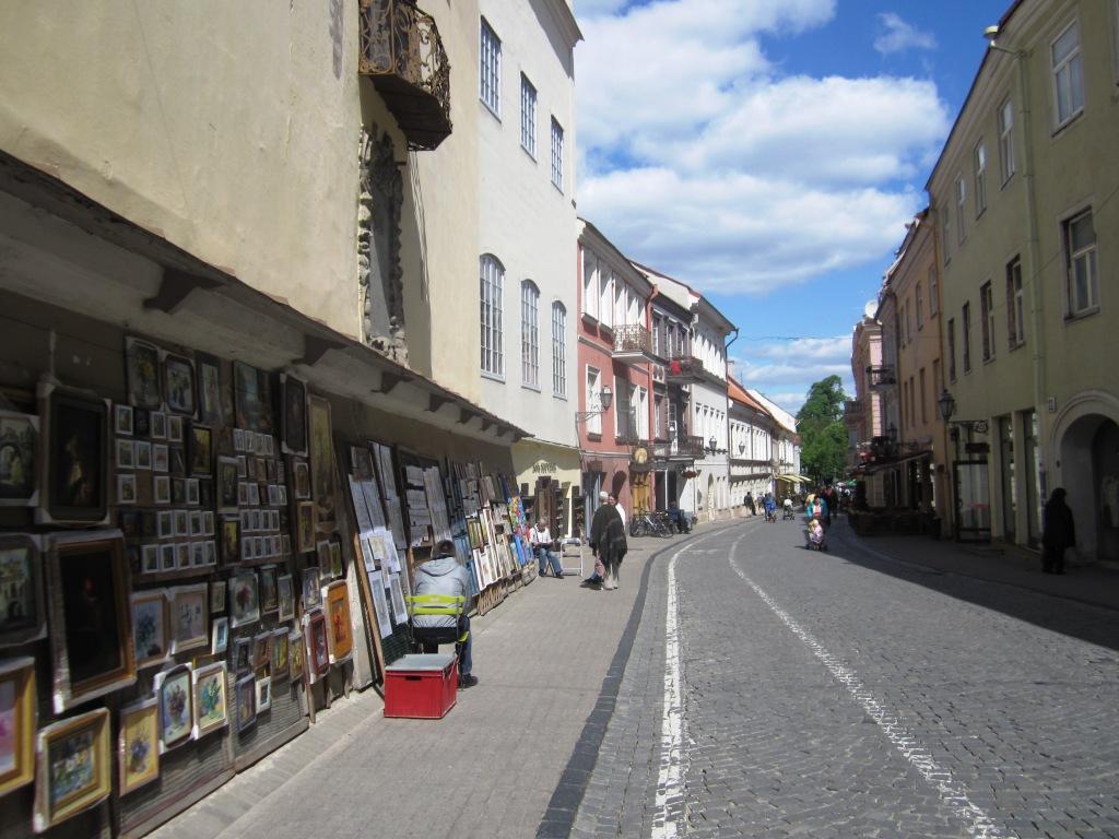 Vilnius Centro storico -maggio 2012