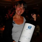 Violante with the Opus One magnum