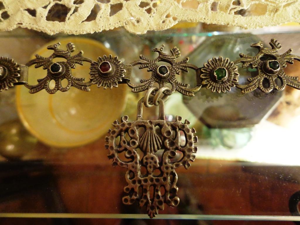 Collana sarda in argento
