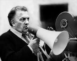 Il regista Fellini