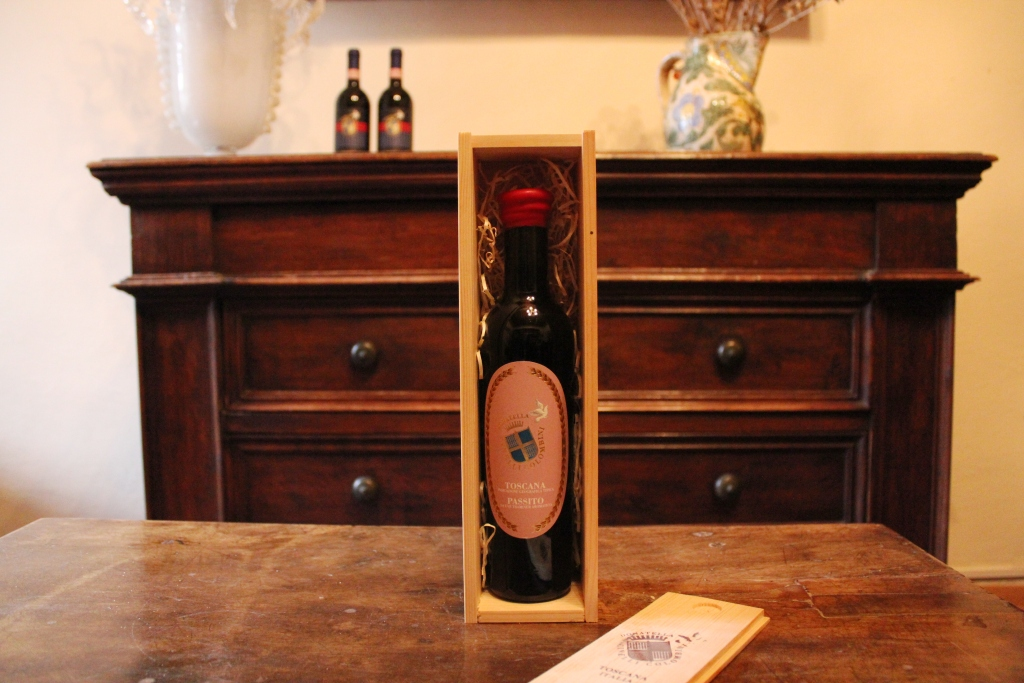 Passito 2011 IGT nella scatola in legno
