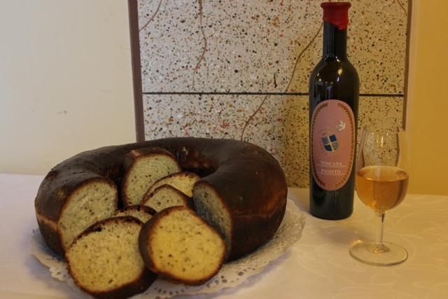 Schiacciata dolce tipico di Siena