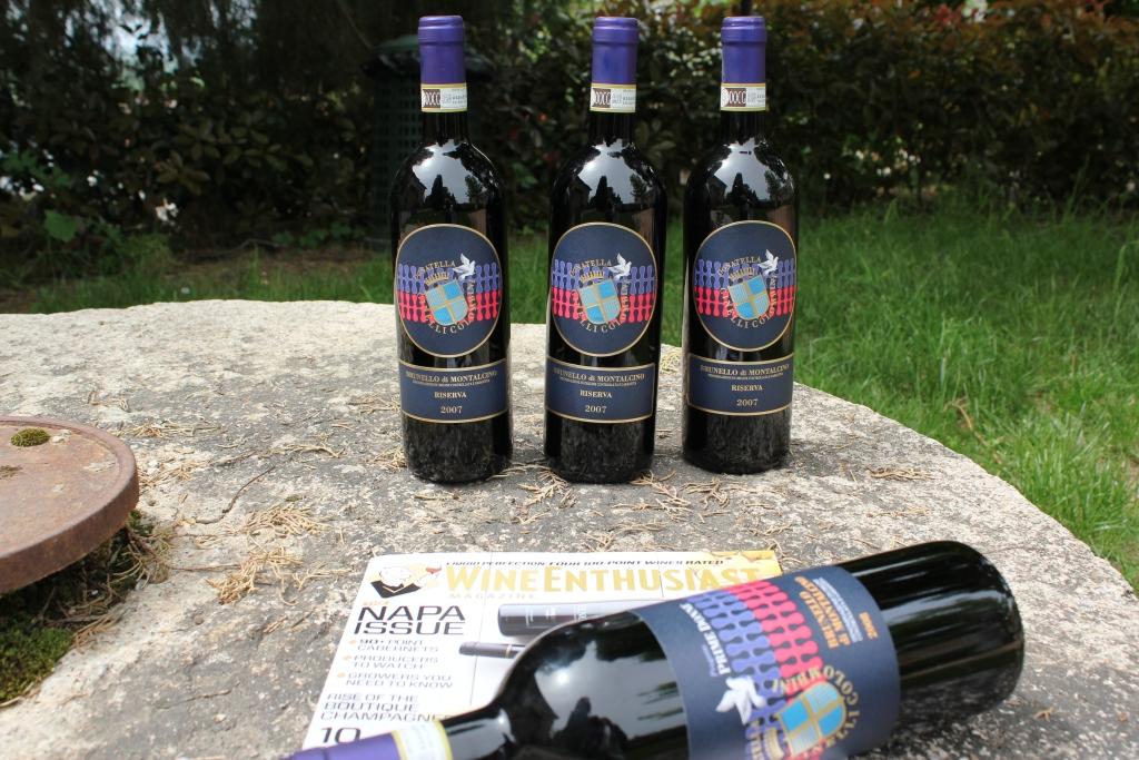 Wine Enthusiast 93/100 al Brunello 07 riserva