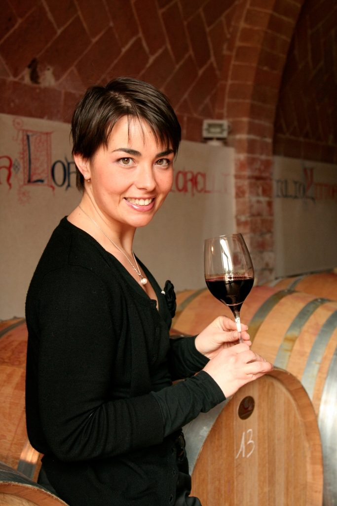 Violante Gardini at the head of Movimento Turismo del Vino - Toscana