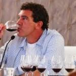 Antonio Banderas and the wine