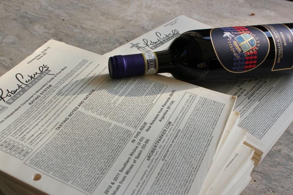 Brunello di Montalcuino 2007 Riserva Wine Advocate