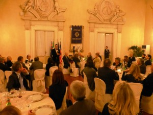 Lions Club Fireze Brunelleschi conviviale con Luca Bianchini P1040294