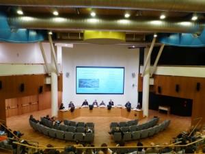 Siena, auditorium  MPS convegno sul turismo