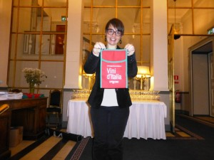 Violante for Gambero Rosso event in Stockholm