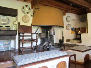 antica cucina Fattoria del Colle