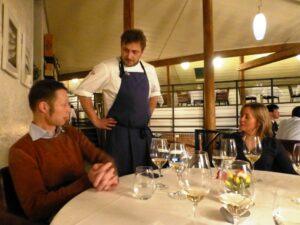 i nostri importatori Moestue con il miglior chef di cucinia italiana di Oslo