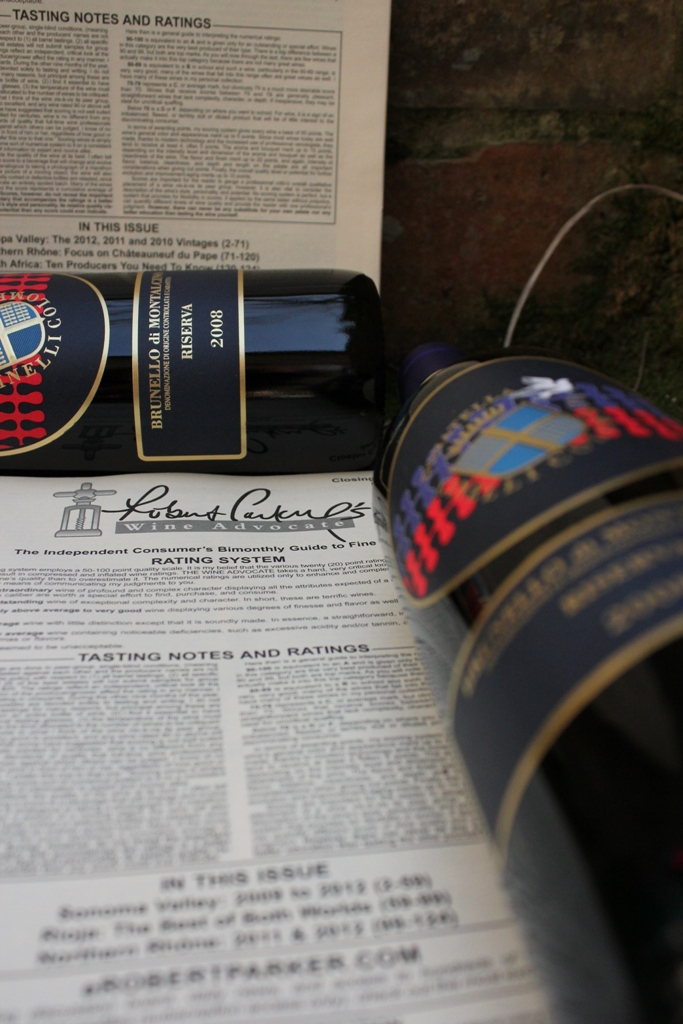 Brunello Ris 2008 e Wine Advocate
