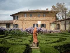 Fattoria del Colle giardino all'italiana
