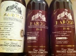 Giacosa Collina Rionda, Barolo (dark label)