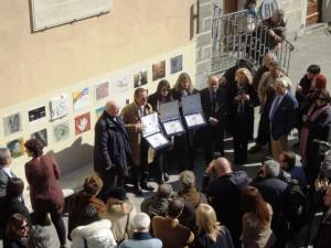 BenvenutoBrunello2012 - Winners of LeccioDOro Award - Mayor Ferragamo Rivella