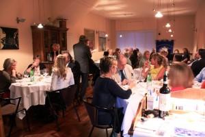 Unione Européenne des Gourmets - Vernaccia dinner