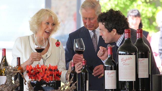 Penfolds visita principe Carlo