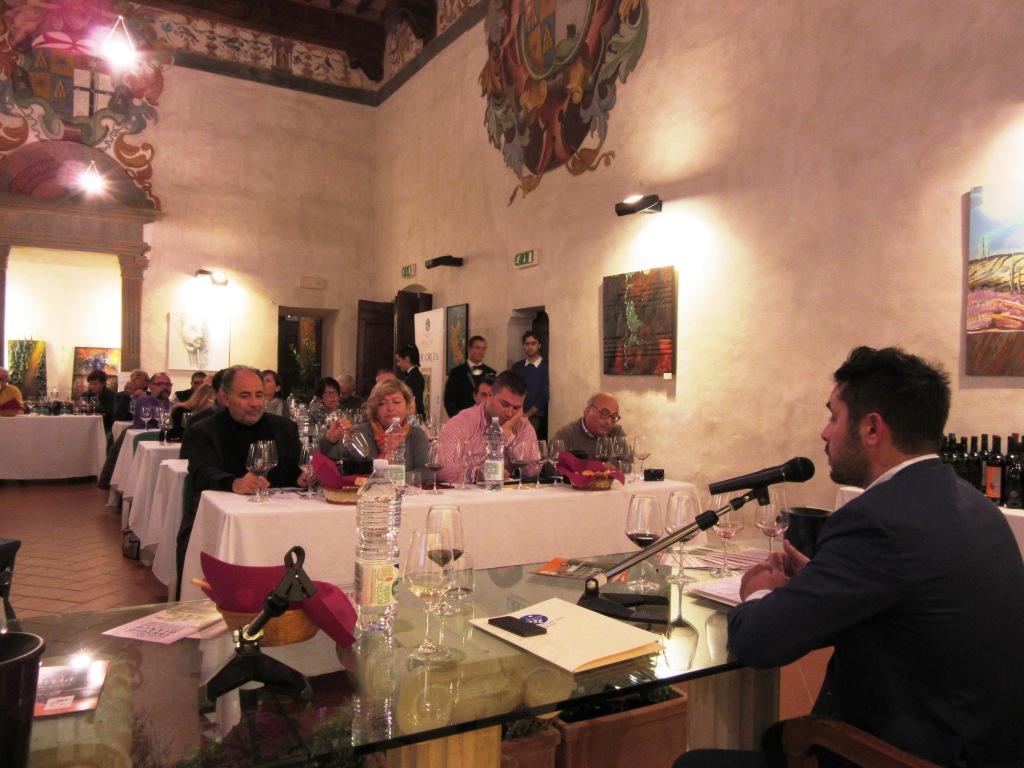 S.Giovanni d'Asso Luca Martini degusta Orcia Doc 5