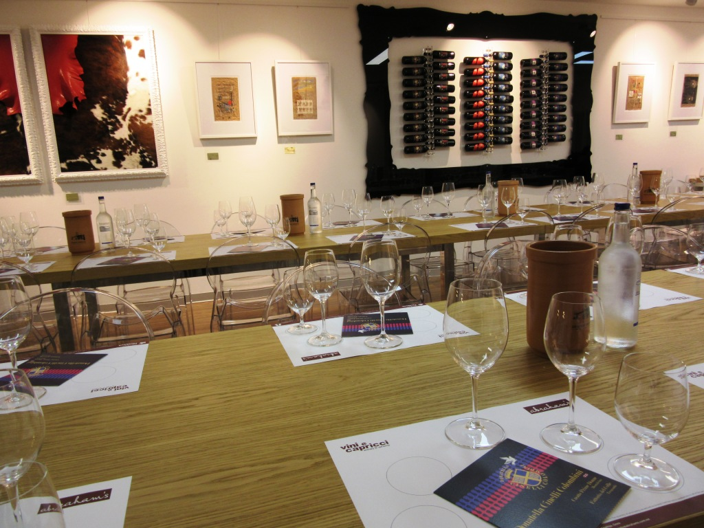 Vini e Capricci Gozo prima del wine tasting