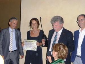 Enolions premiazione 2014 Ginevra Venerosi Pesciolini