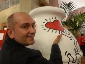 Andrea Gori degustazione Hotel Due Torri