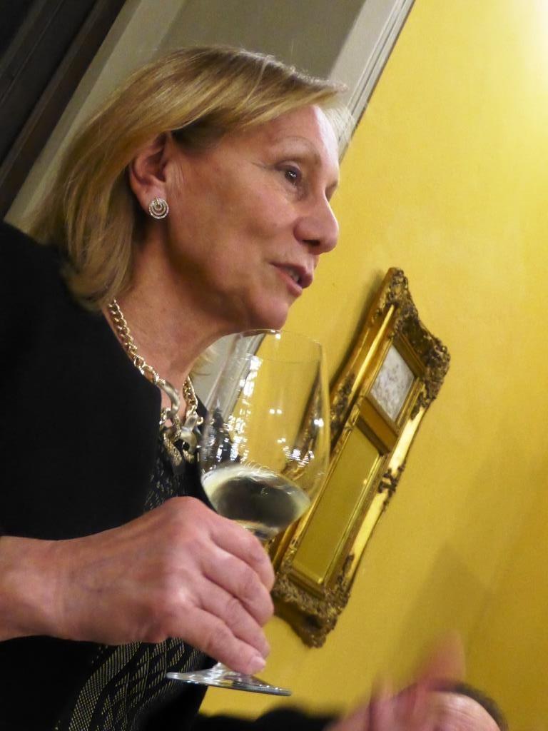 Marilisa Allegrini ai Gourmet di Siena 2