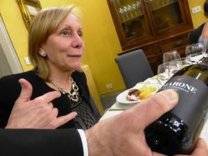 Marilisa Allegrini presenta il suo Amarone ai Gourmet di Siena