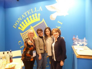 Patrizia Felluga con Caterina Donatella Cinelli Colombini con Violante