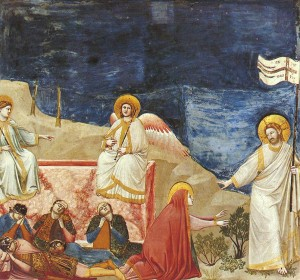 Resurrezione Giotto Padova, Cappela degli Scrovegni