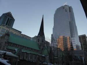Montreal antiche Chiese e palazzi moderni