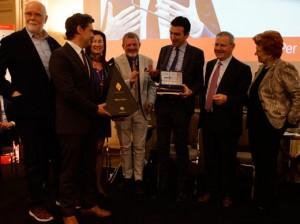 Maurizio Martina premio Italia a tavola