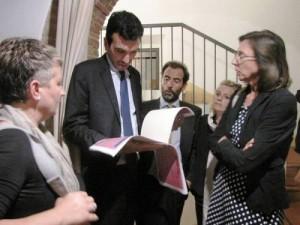 Maurizio Martina e AAlessandro Regoli Winenews