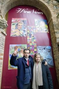 Alessandro Regoli e Irene Chiari