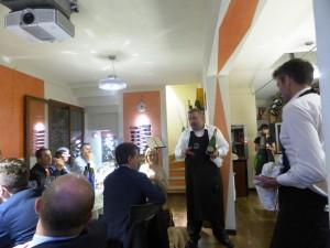 Barrino di Montisi cena per Marcello Lunelli