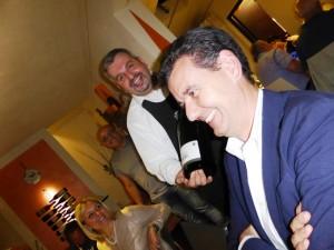 Marcello Lunelli con Gianluca Monaci al Barrino di Montisi