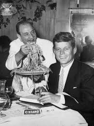 Alfredo Di Lelio with John Kennedy