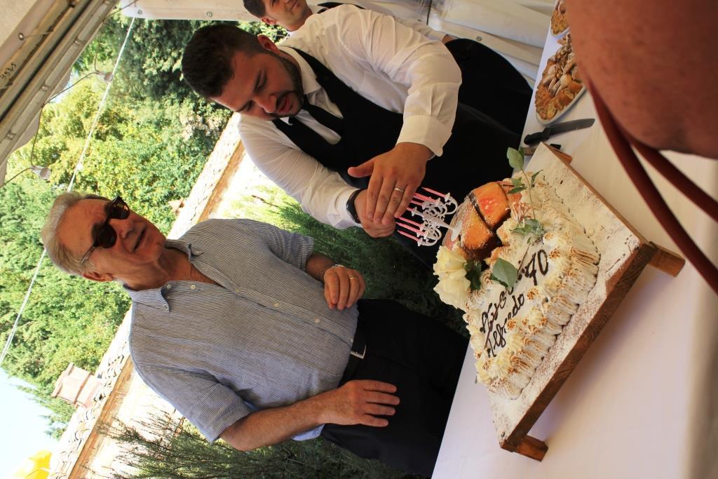 Alfredo Tesio e le sue 7 candeline alla Fattoria del Colle