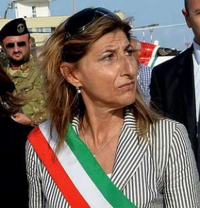Giusi Nicolini Sindaco di Lampedusa e Linosa