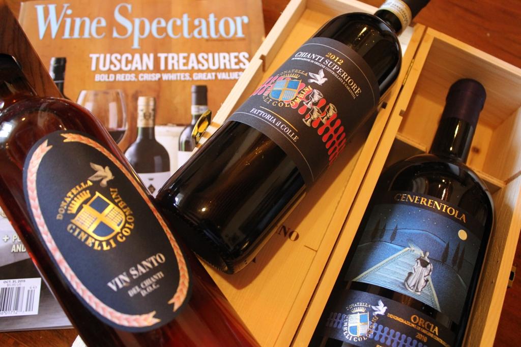 Chianti Superiore, Cenerentola Doc Orcia e Vin Santo 90 91, 90 by Wine Spectator