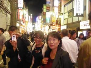 Tokyo prima sera di donatella e Violante
