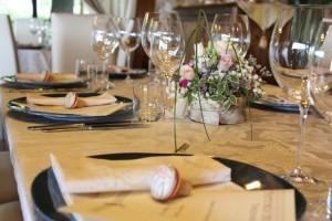 wedding at Fattoria del Colle - cork place card