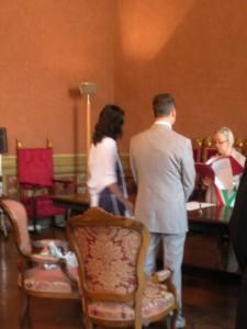 Ultimo matrimonio di Donatella a Siena